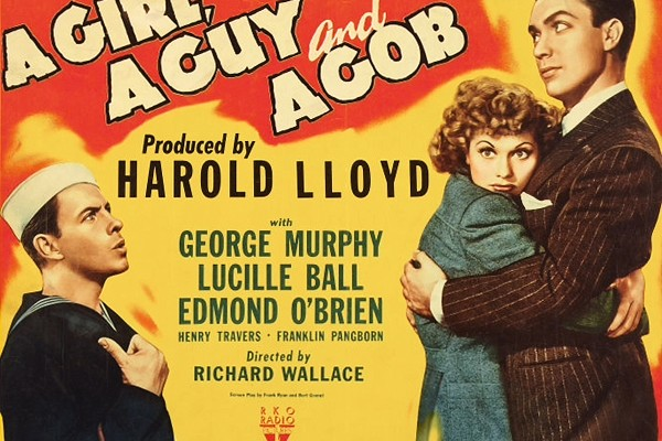 A Girl, a Guy and a Gob (1941)