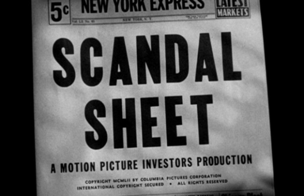 Scandal Sheet (1952)
